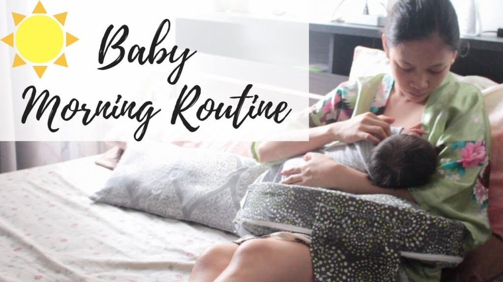 Baby Morning Routine