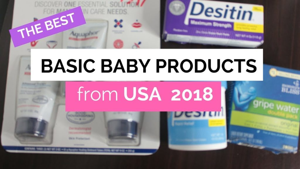 Baby products for your kids : USA Haul