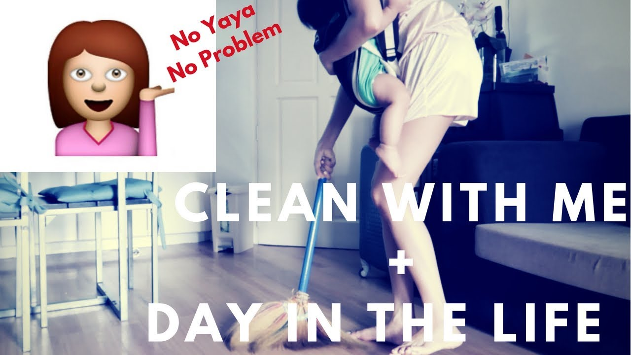Vlog # 30 Clean with me! Day in the life of a WAHM | Taglish