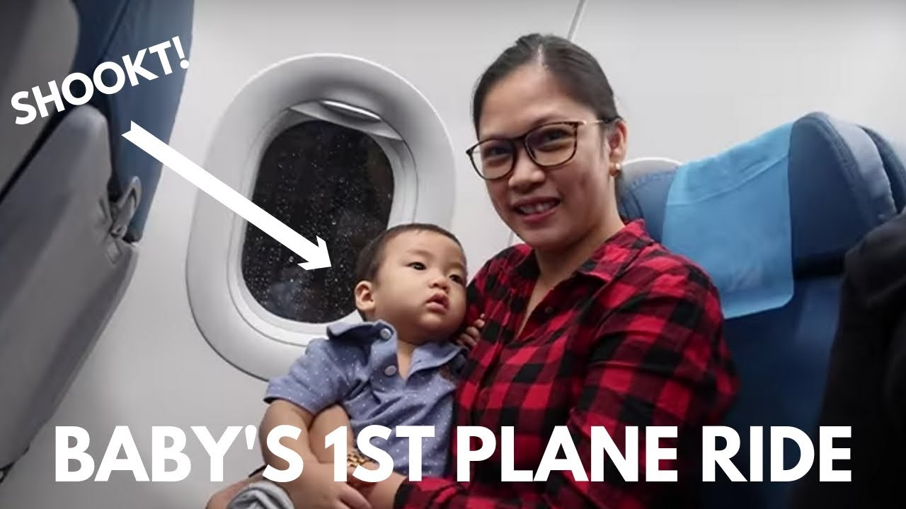 VLOG#42 Baby's First Airplane Ride | Taglish