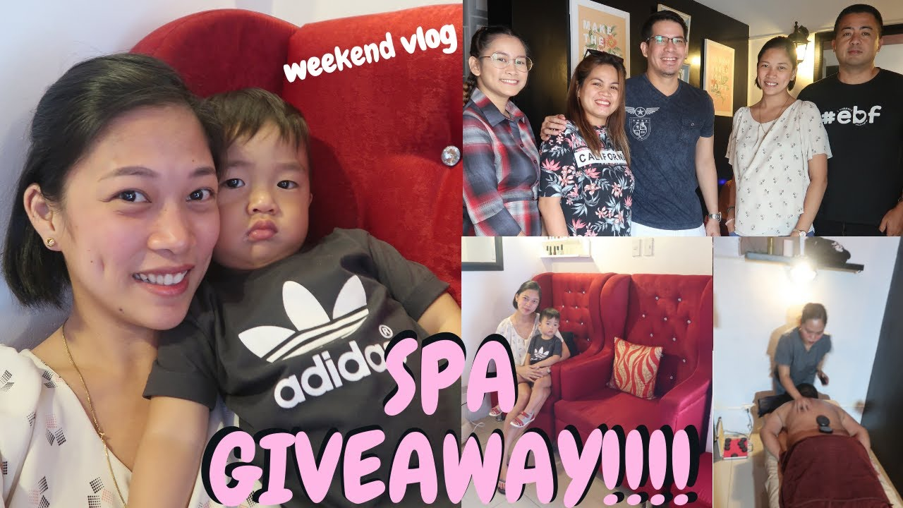 SPA Giveaway! School, Dentist at Spa Time | weekend vlog