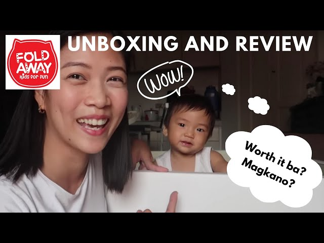 Foldaway Unboxing and Review 2018 |Taglish