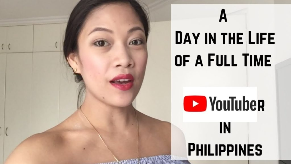 Day in the life of a Full Time YouTuber| Taglish