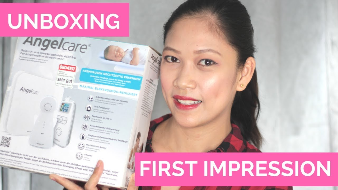 Angel Care Baby Monitor AC- 403D |UNBOXING AND FIRST IMPRESSION